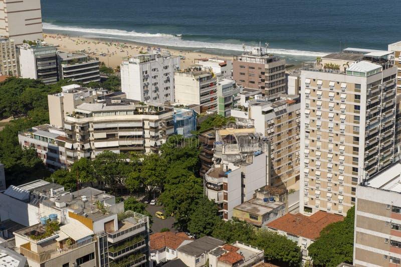 Rio de Janeiro bästa sikt royaltyfria foton