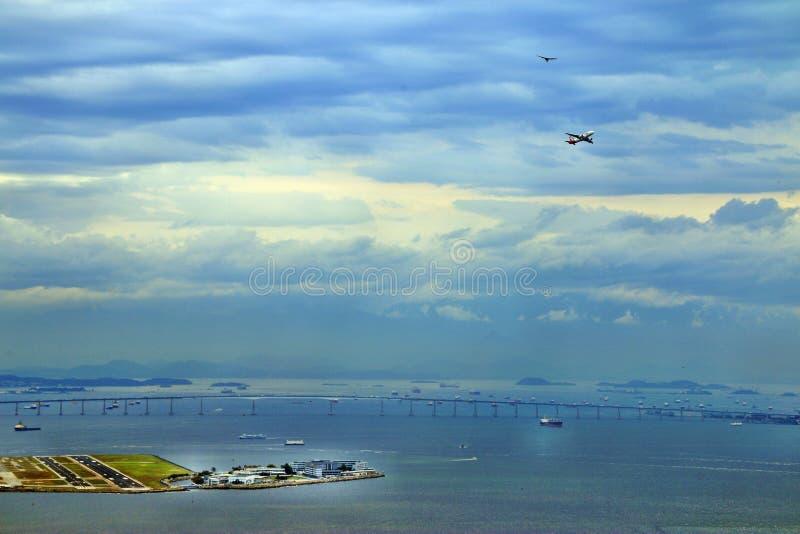 Rio de Janeiro-Brücke stockbilder