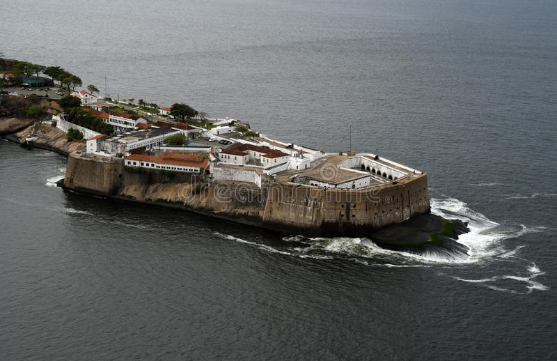 Santa Cruz da Barra Fortress stock photos