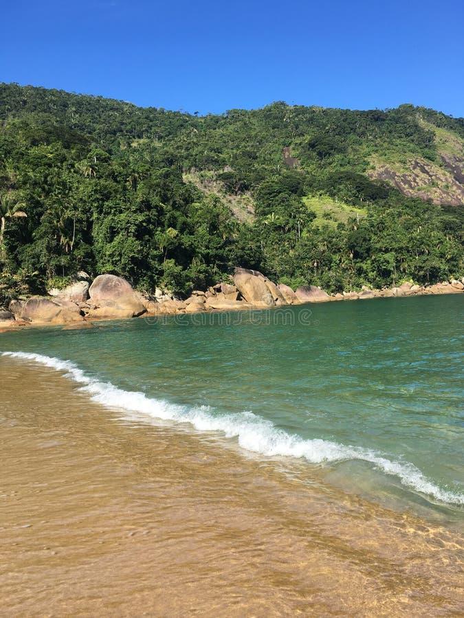 praia ponta negra paraty royalty free stock images