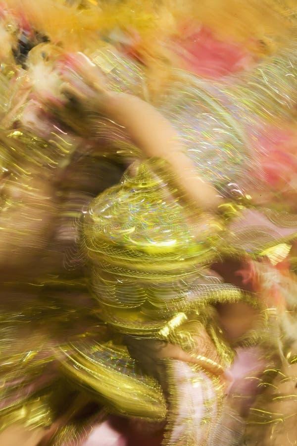 Rio de Janeiro Brazil Carnival. Carnaval parade at the Sambodromo, Rio de Janeiro Brazil
