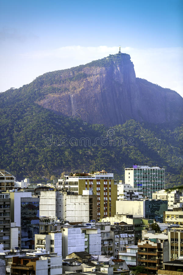 Download Rio De Janeiro, Brazil- Christ The Redeemer Overlooking Rio Stock Image - Image: 37927867