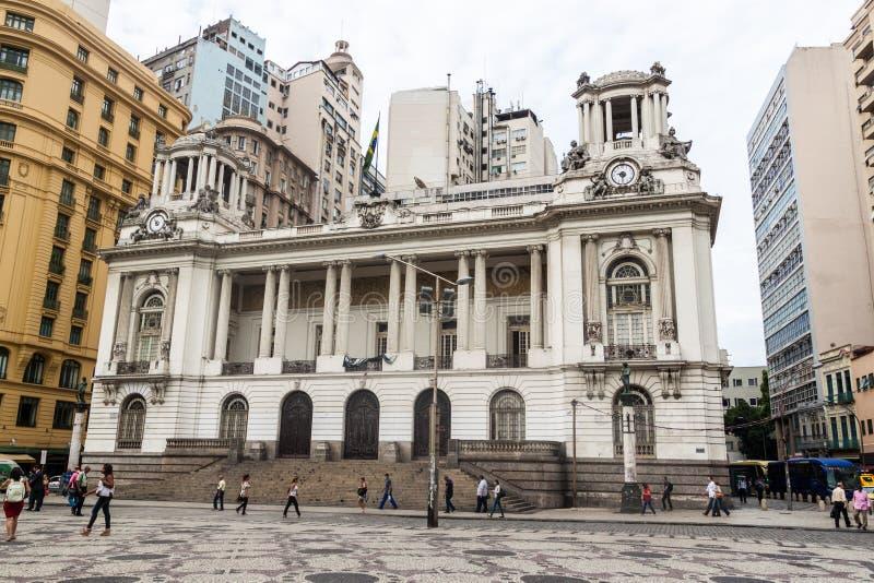 Town Hall in Rio de Janeiro royalty free stock photography