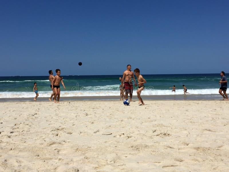 Barra da Tijuca beach royalty free stock images