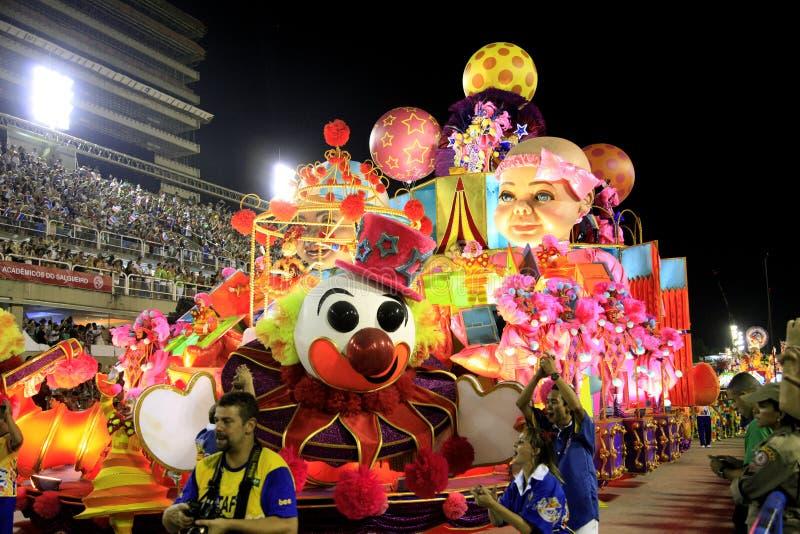 Rio de Janeiro Carnival royalty-vrije stock foto's
