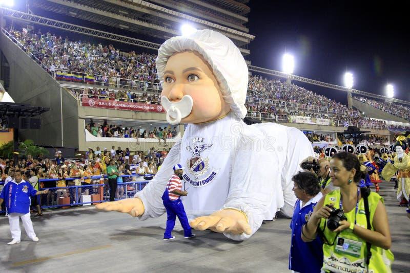 Rio de Janeiro Carnival immagini stock