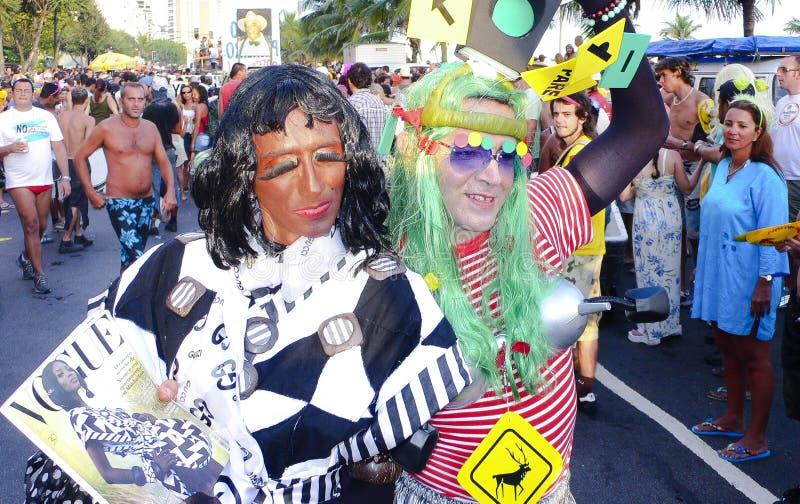 Rio de Janeiro Carnival fotografering för bildbyråer