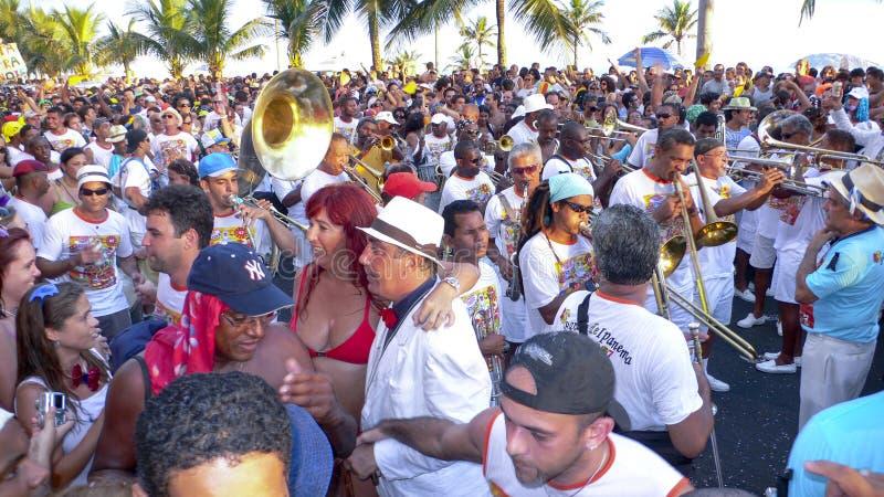 Rio de Janeiro Carnival arkivfoto