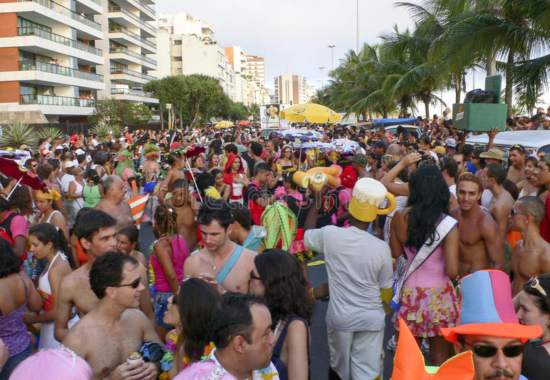Rio de Janeiro Carnival royaltyfri bild