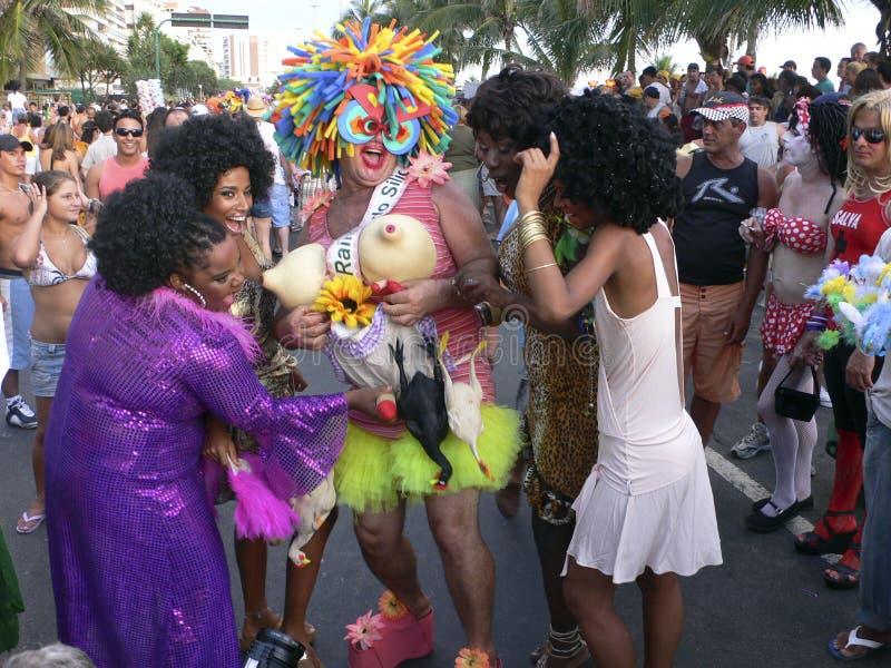 Rio de Janeiro Carnival arkivfoton