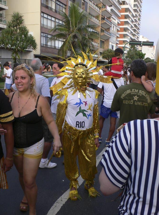 Rio de Janeiro Carnival royaltyfria foton