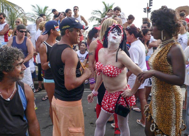 Rio de Janeiro Carnival arkivbilder