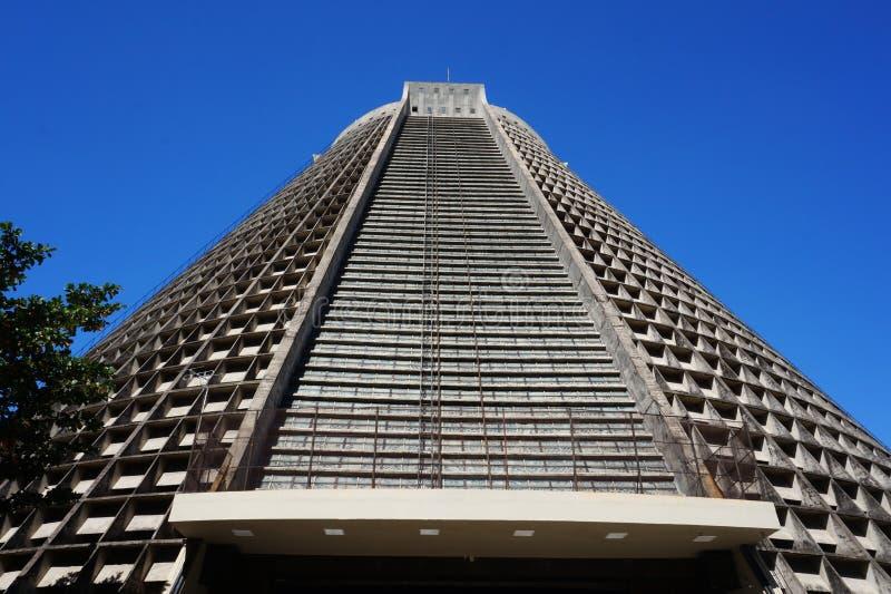 Rio de Janeiro cathedral royalty free stock photo
