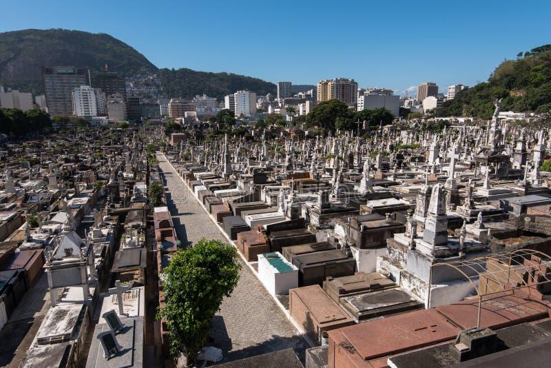Rio de Janeiro Cemetery photo libre de droits