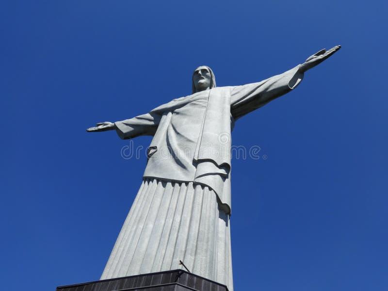 Rio de janeiro Christ a estátua do redentor foto de stock