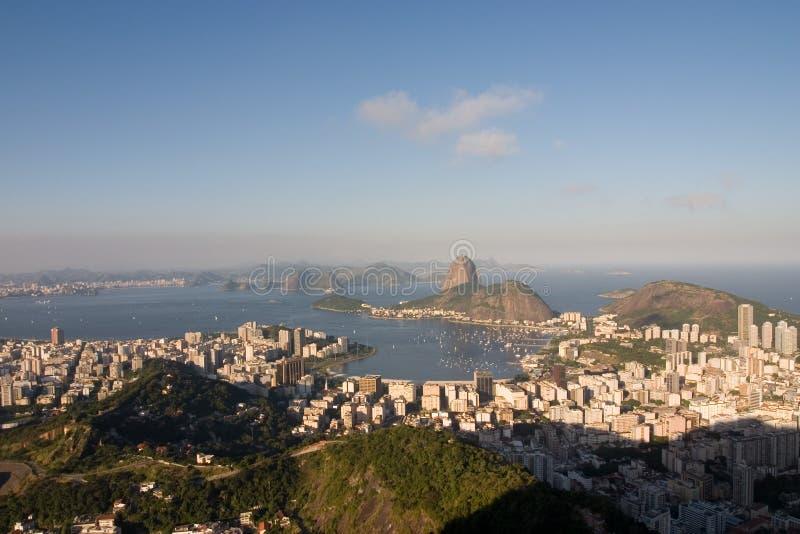 Rio de Janeiro, compartiment de Botafogo image libre de droits