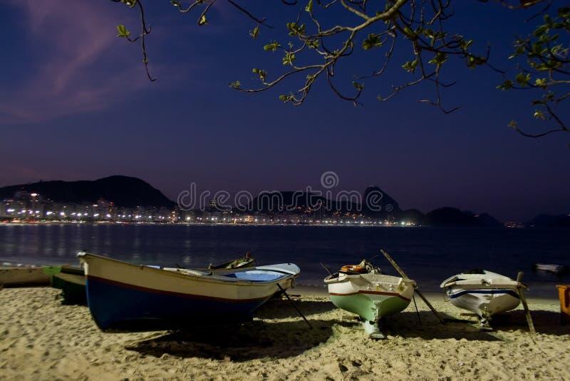 Rio de Janeiro, Copacabana fotografia stock libera da diritti