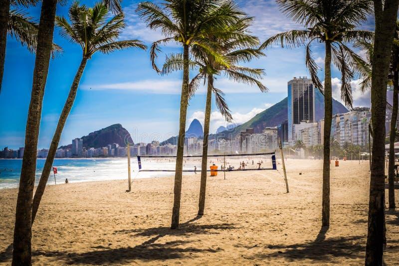 Rio de Janeiro Copacabana royaltyfri foto