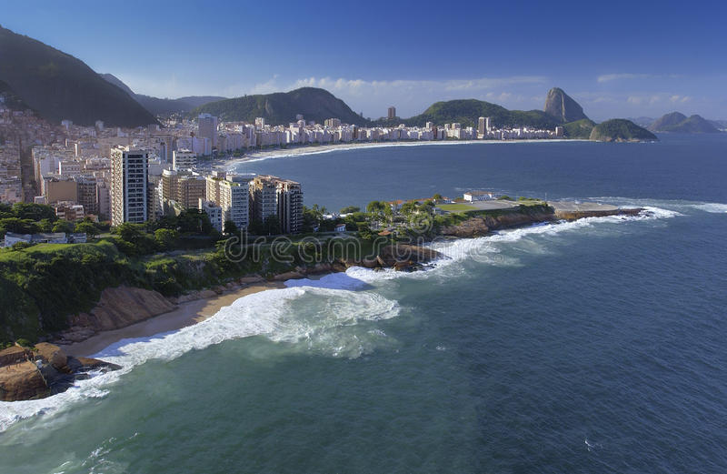 Download Rio De Janeiro - Copacabana Beach - Brazil Stock Photo - Image of aerial, travel: 20884564