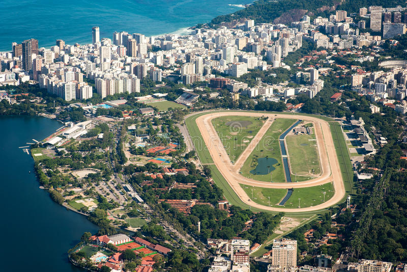 Rio De Janeiro dżokeja klub obrazy royalty free