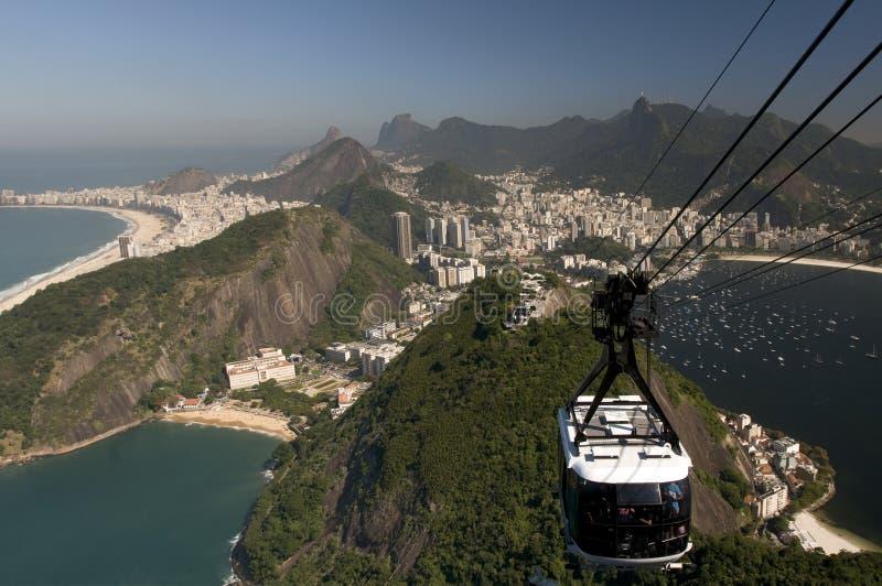 Rio de Janeiro de ci-avant photo libre de droits