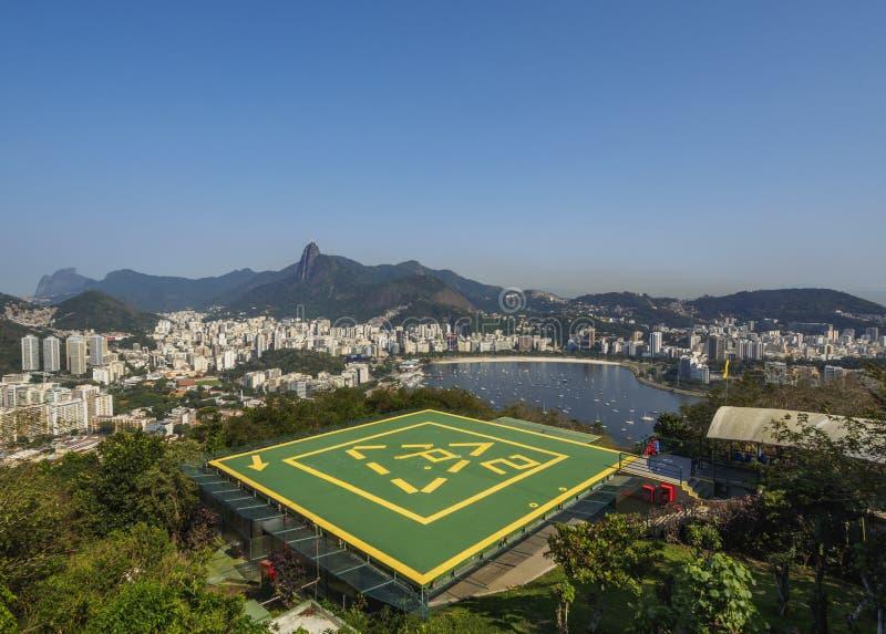 Rio de janeiro de Sugarloaf foto de stock