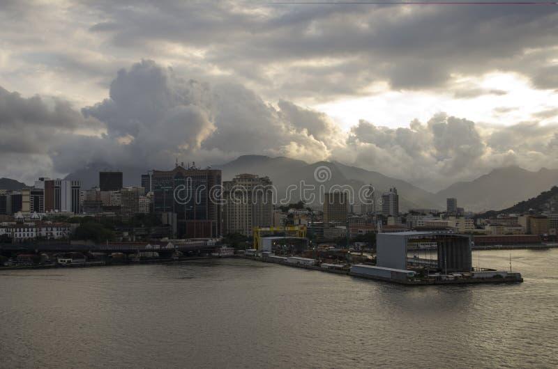 RIO DE JANEIRO DOWNTOWN stock image