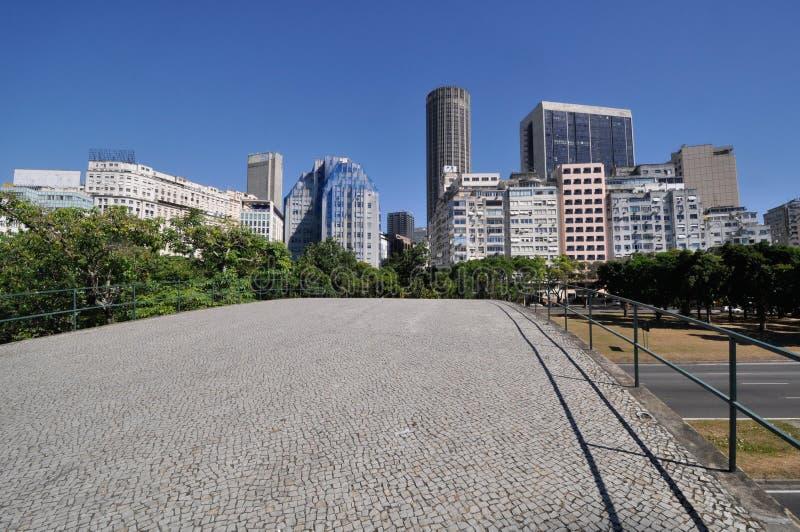 Rio de Janeiro, Downtown. Brazil stock photo