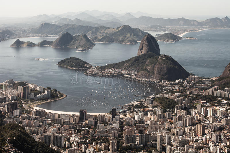 Rio de Janeiro, el Brasil imagenes de archivo