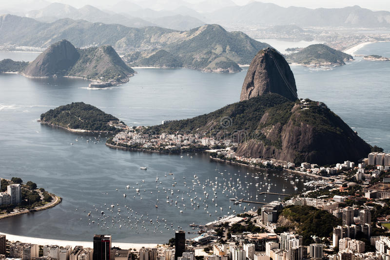 Rio de Janeiro, el Brasil fotografía de archivo
