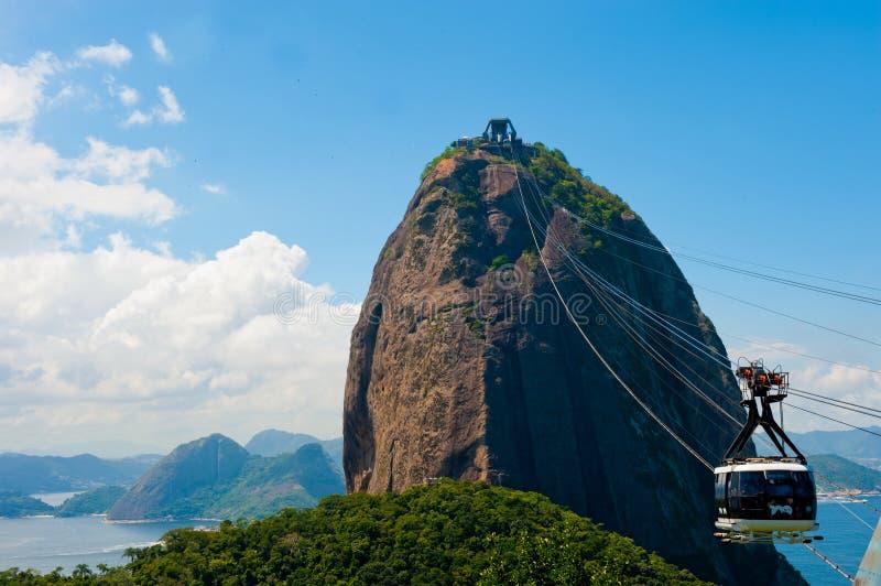 Rio de Janeiro, el Brasil imagen de archivo