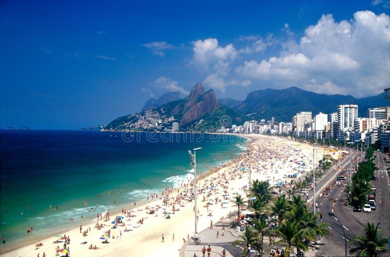 Rio de Janeiro en el carnaval imagen de archivo libre de regalías