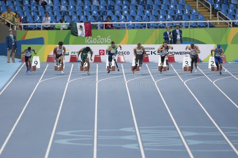 Rio de Janeiro 2016 för Paralympic lekar royaltyfri fotografi