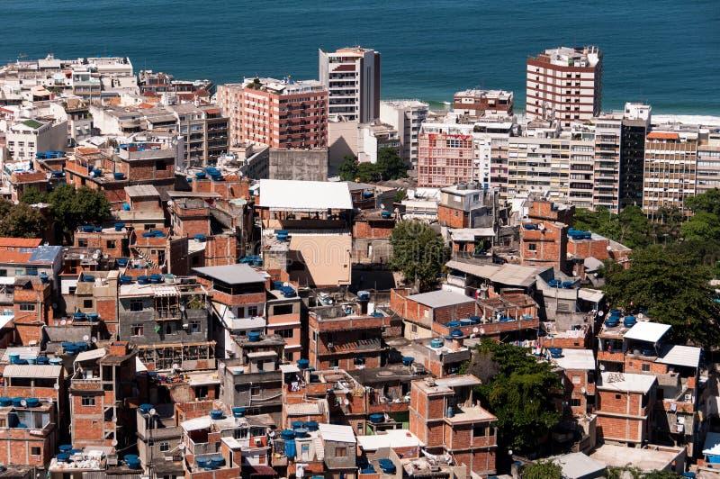 Rio de Janeiro Favela stock photo