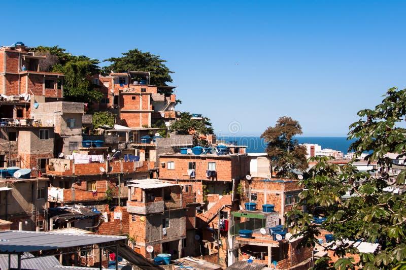 Rio de Janeiro Favela royalty free stock photos