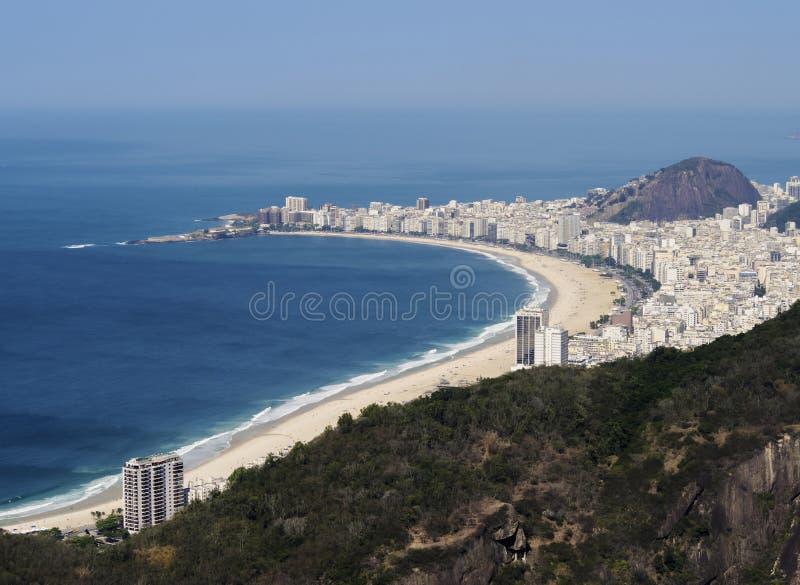 Rio de Janeiro från Sugarloaf royaltyfri foto