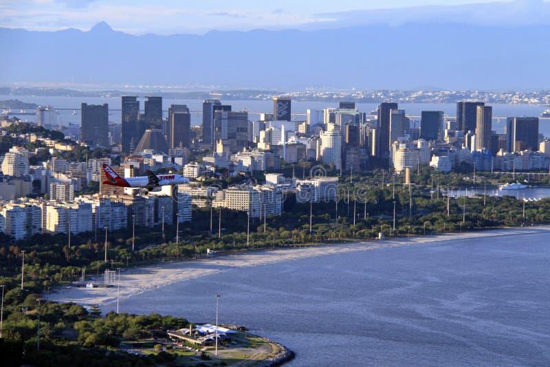 Rio de Janeiro im Stadtzentrum gelegen stockbild
