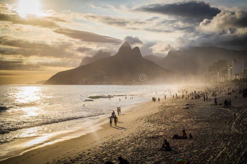 Rio de Janeiro Ipanema royaltyfri foto