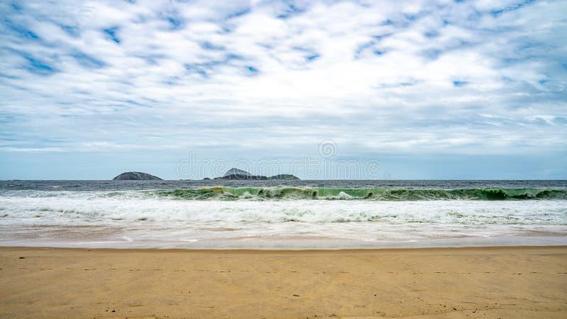 Rio de Janeiro Ipanema Beach royalty free stock images