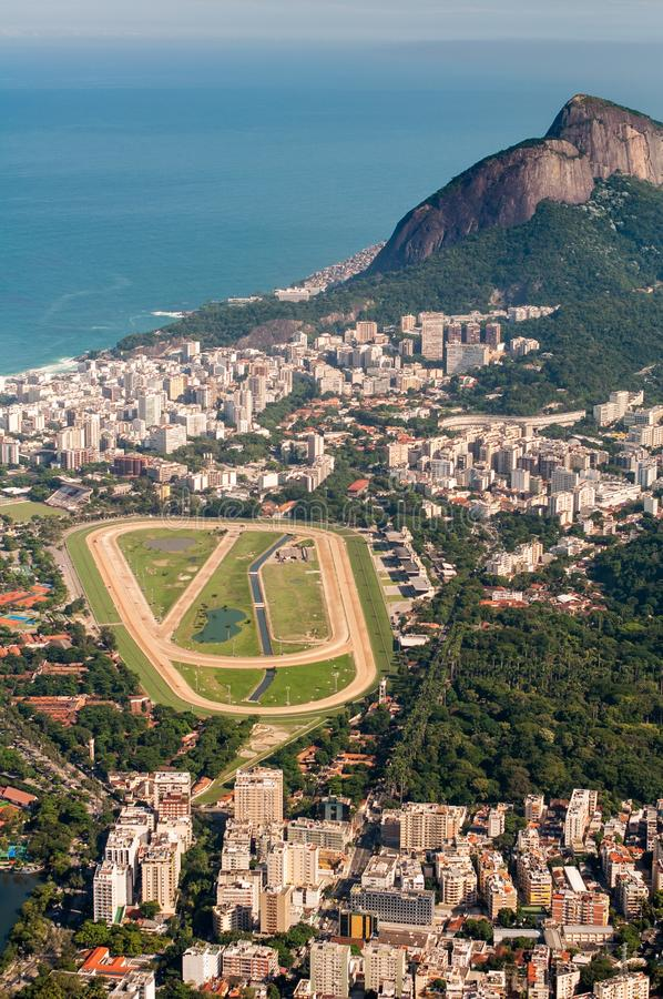 Rio de Janeiro Jockey Club stockfotos