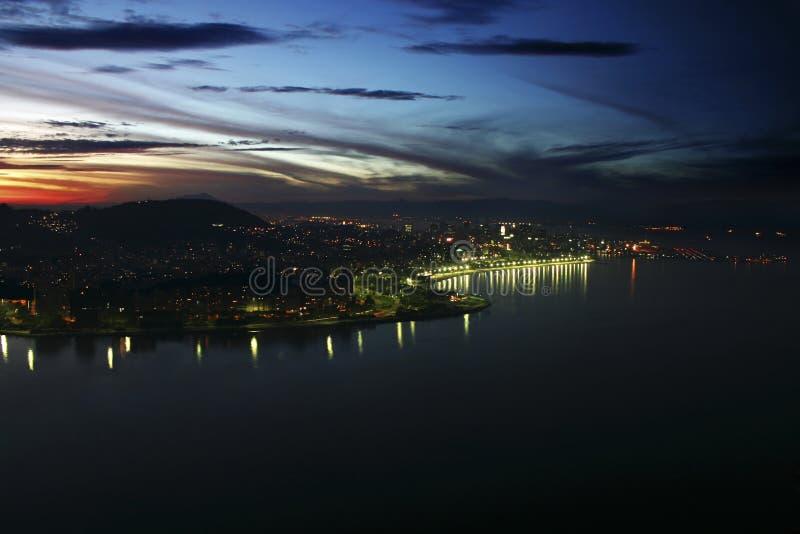 Rio de Janeiro noc fotografia royalty free