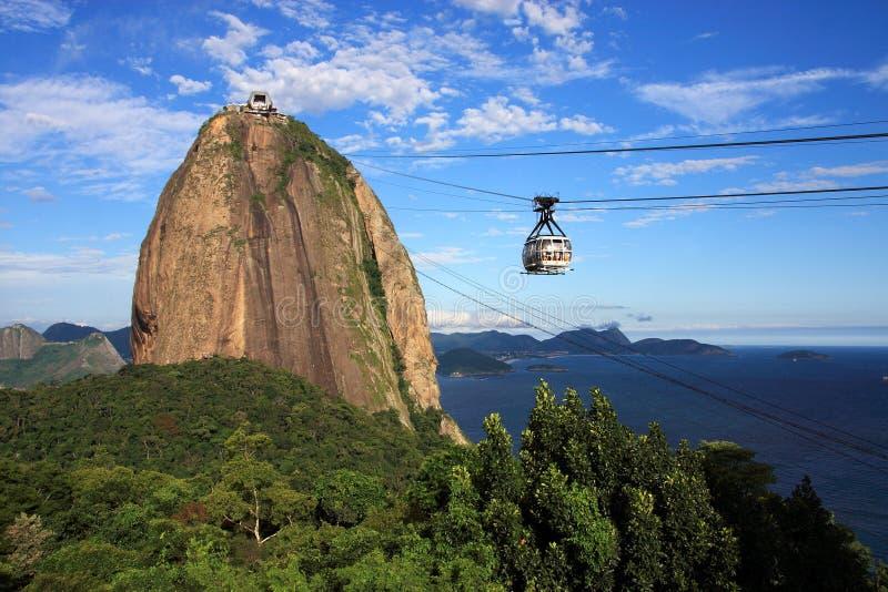 Rio de Janeiro - Pao de Acucar royalty free stock images