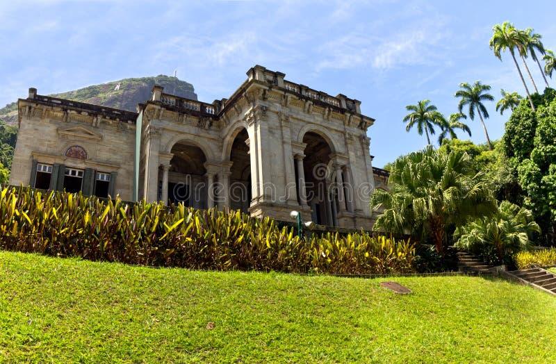 Rio de Janeiro, Parque Lage imagem de stock royalty free
