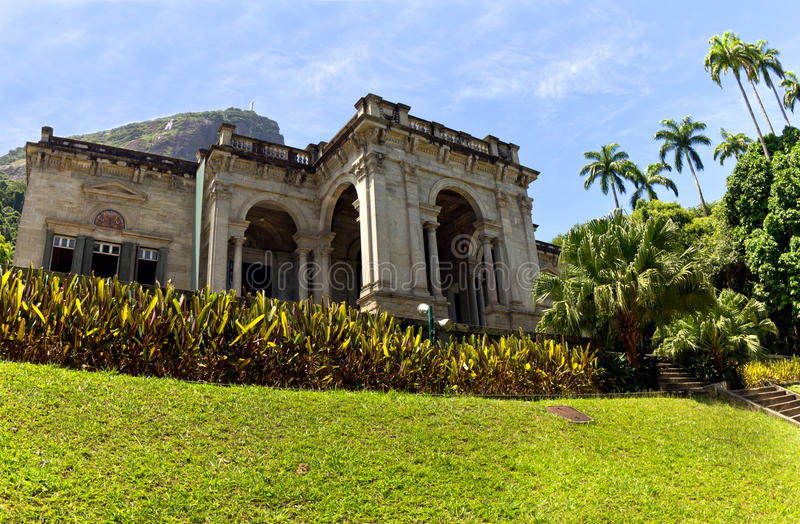 Rio de Janeiro, Parque Lage image libre de droits