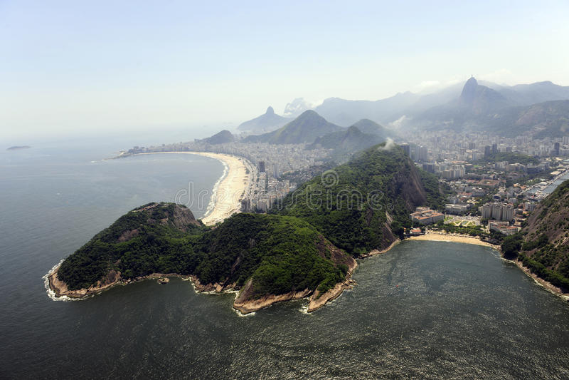 Rio De Janeiro: Praia Vermelha, Copacabana Royalty Free Stock Photos