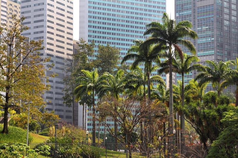 Rio de Janeiro. Office buildings - business district stock photography