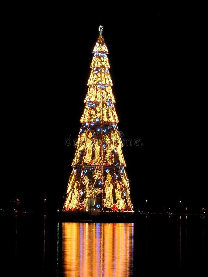 Rio de Janeiro?s christmas tree royalty free stock photography