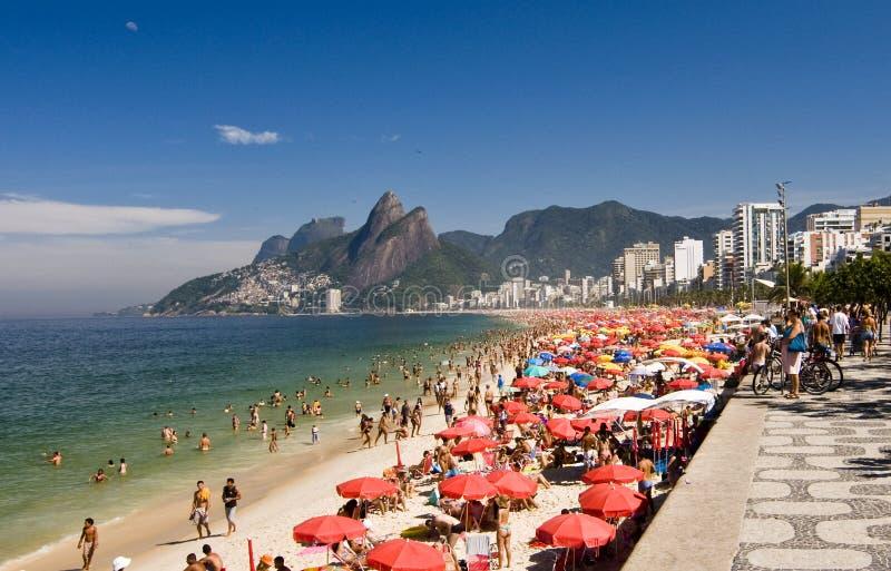 Summer Seashore Rio de Janeiro  stock photography