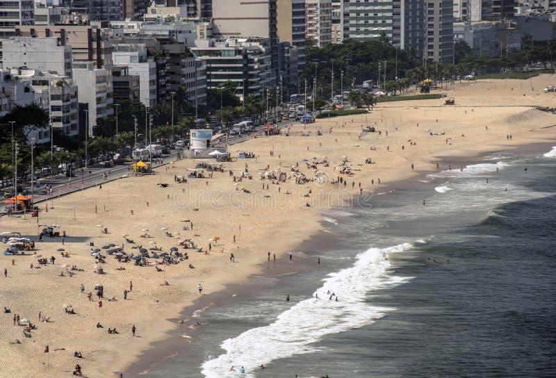 Rio de Janeiro Seashore stock photos