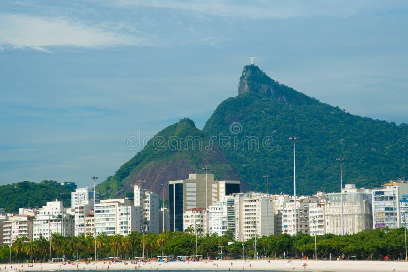 Download Rio de Janeiro skyline stock image. Image of beach, rise - 19983157